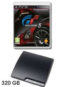 PS3 Console: 320GB with Gran Turismo 5 (Pre-owned) - £219.99 @ Game