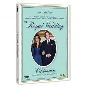 The Kate & William Royal Wedding Celebration (DVD) with Free Replica Engagement Ring - £12.97 @ ITV