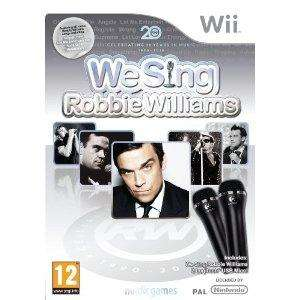 We Sing: Robbie Williams and Two Mics (Wii) - £19.99 @ Sainsburys (Instore)