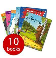 Julia Donaldson Book Collection - 10 Books - £9.99 Delivered @ The Book People