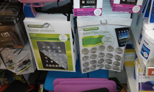 iPad Screen Protector & iPad Flexi Case - £1 Each @ Poundland