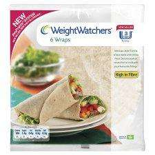 Weight Watchers Wraps 6Pk £0.50 - Weight Watchers Wholemeal Pitta 6 Pack £0.47 -  Weight Watchers Bagels 5Pk £0.67 @ Tesco