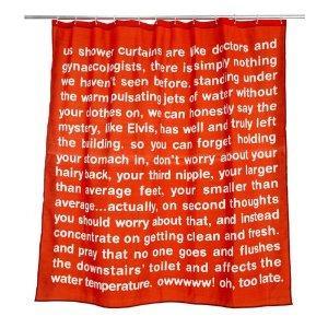 Anatomicals Shower Curtain - Amazon - £14.99