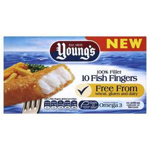 Young's Omega 3 Fish Fingers 10 pack - 300g Reduced from £1.99 Down to Only .50p instore @ Sainsburys
