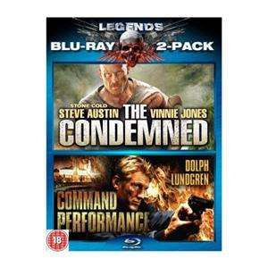 Legends: The Condemned / Command Performance - Double Pack (Blu-ray) (2 Disc) - £7.99 @ Play