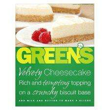 Green's Original Cheesecake Mix - Tesco 64p