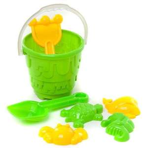 7 Piece Beach Bucket Set - £1 @ Poundland