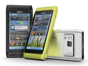Nokia N8, 300 minutes, 1000 texts, unlimited internet only £25/month with a 12 month contract @ Talk Mobile