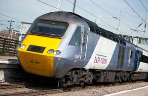 20% off 1st Class Advance Tickets on East Coast Trains
