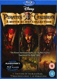 Pirates of the Caribbean 1-3 (Blu-ray) - £15 Instore @ Sainsburys
