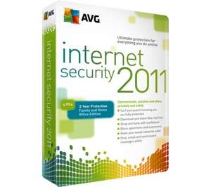 AVG Antivirus and Internet Security - From £9.99 Delivered @ Dixons