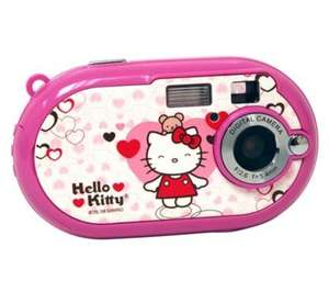 Vivitar Hello Kitty  5.1 Megapixel Compact Digital Camera - Pink - Now £14.99 Delivered @ Currys