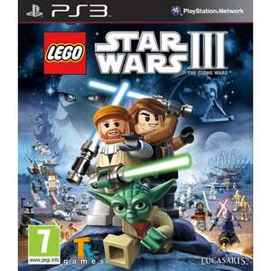 Lego Star Wars III: The Clone Wars (PS3) - £23.95 Delivered @ Playstation Rewards