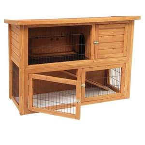 Meadow Lodge Rabbit Hutch £62.00 + Free Delivery from Amazon