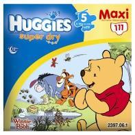 Maxi Box of 111 (Size 5) ~ Huggies Superdry Nappies ~ £11 @ Asda