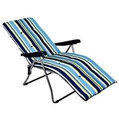 Sainsbury's Padded Relaxer Beach Stripe Half Price Now £22.49