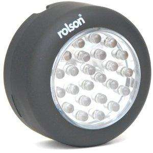 Rolson Tools 60702 24 LED Magnetic Lamp with Hook £2.60 @ Amazon