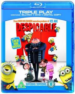Despicable Me - Triple Play (Blu-ray + DVD + Digital Copy) - Only £12.85 Delivered @ Zavvi