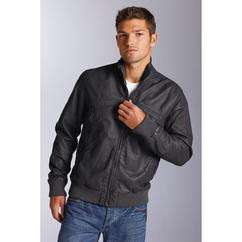Goodsouls Leather Bomber Jacket. Reduced by over £100 to £33.94 @ Bargain Crazy