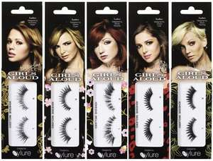 Girls Aloud Eyelashes - 99p each @ Savers