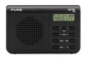 PURE ONE Mi, Portable DAB  Clock Radio RRP £34.99 Down to Only £18 inc Vat @ Makro