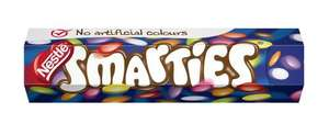 Smarties Tubes 19p @ Home Bargains
