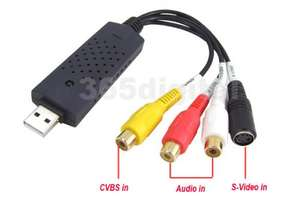 USB DVR CCTV Audio Video Capture Recorder Adapter Card - £8.40 @ eBay Accord Trade UK Outlet