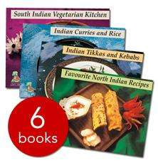 Indian Chef's Collection - 6 Books (Paperback) - £3 + Delivery @ The Book People