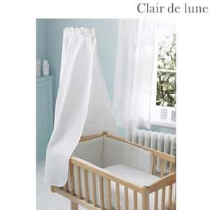 Clair de Lune Soft Waffle - Rocking Cradle Quilt and Bumper Set - Cashmere Blue Only £1.00 Delivered @ BHS