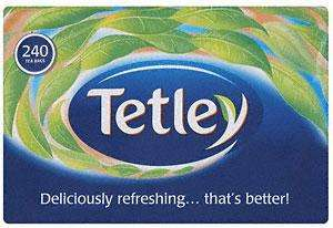 TETLEY 240 TEABAGS ONLY £3 @ ASDA Normally £5.28 Instore and online