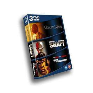 Samuel L. Jackson Box Set: Coach Carter / Shaft / Rules of Engagement (DVD) - £2.99 delivered (£2.69 for first time customers) @ BTR Direct