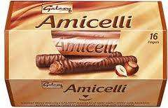 Galaxy Amicelli bars only 10p @ Home Bargains