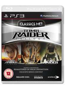 Tomb Raider Trilogy (PS3) - £14.99 @ Game (+ 1,000 Loyalty Points)
