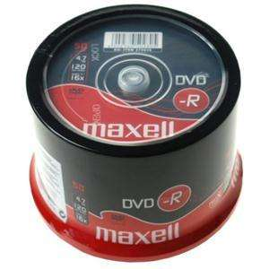 Maxell 50PK DVD-R - Only £5 Delivered @ Play