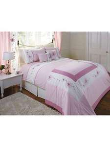 Littlewoods Pretty Pink Duvet Cover (teenage / adult) £5.20 BOGOF