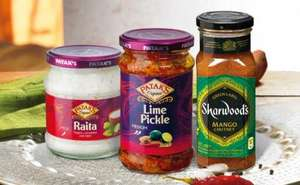 Patak's Raita, Lime Pickle or Sharwood's Mango Chutney 99p, Tsingtao Beer £1.49, Sharwood's Chicken Ready Meals 99p (list in post) at Lidl