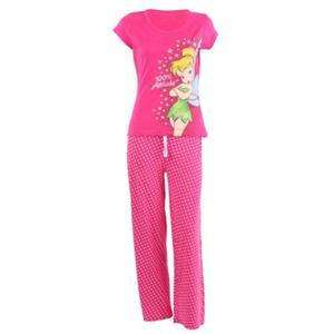 Tinker Bell / Women's / 100% Attitude (Pink - Pyjamas) - £5 Delivered @ Play