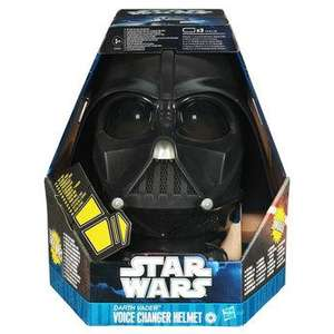 Darth Vader Voice Changer Helmet - (RRP £39.99) - £23.99 (with instore voucher) @ Toys R Us (This Weekend)