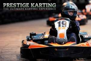 30 minutes Go Karting at Prestige Karting (Colne, Lancashire) just £10 @ Groupon
