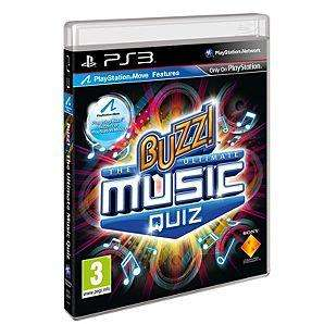 Buzz! The Ultimate Music Quiz (With 4 Buzzers) (Move Compatible) (PS3) - RRP £17.99 - Now £10 @ Asda (Instore, Basildon)