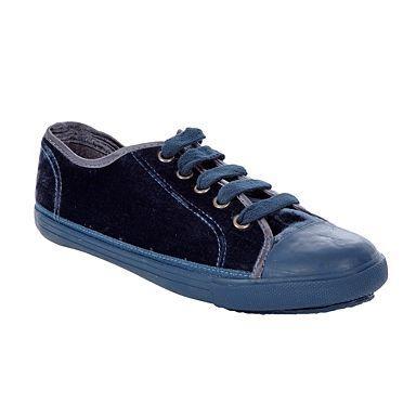 Mantaray Blue Velvet Lace-up Shoes - £6 Delivered @ Debenhams