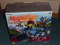 PS3 Slim console 250GB. Brand new and comes with Modnation Racers free £184.99. From GAME.