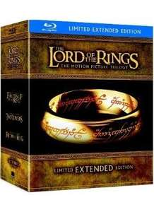 Lord Of The Rings Extended Collection (Blu-ray) (Pre-order) - £43.99 (using code) @ Sainsburys Entertainment