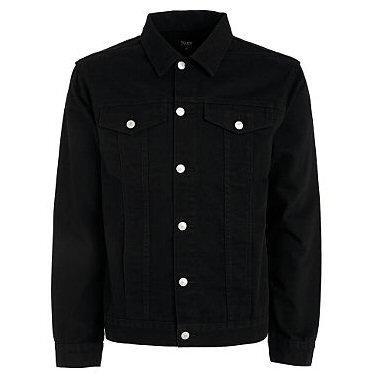 Debenhams Trader Jeans Co. Black Twill Jacket £7 Delivered @ Debenhams