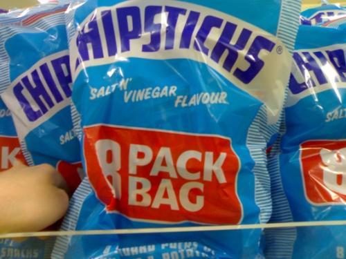 Walkers Frazzles / Chipsticks 8 pack £1 @ Morrisons