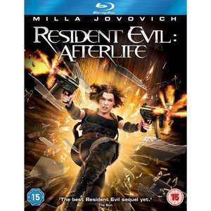 Resident Evil Afterlife (Blu-ray) - £9.99 @ Amazon