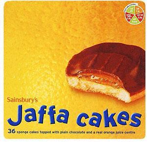Sainsbury's Jaffa Cakes 36 pack £1