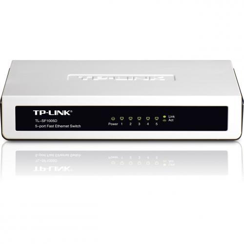 TP-Link 5-Port 10/100 Unmanaged Mini Desktop Switch - £5.79 @ Amazon