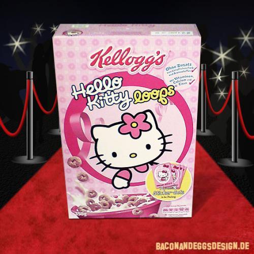 Kellogs Hello Kitty Loops 99p @ 99p Store