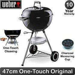 Weber Charcoal Barbecue 47cm (18.5 inch) - One Touch Original - (gardenandleisure.com) - £80
